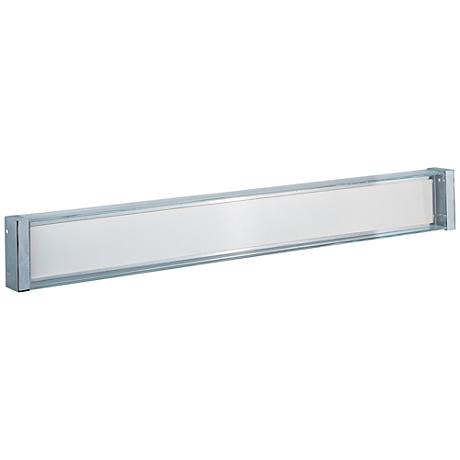 "Maxim Vista 40"" Wide Polished Chrome LED Bath Light"