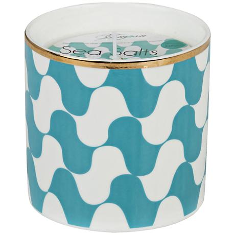 Venetian Trans Aqua Waves Sea Salt Small Scented Candle