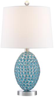 Magda Blue Crystal Table Lamp (9M860) 9M860