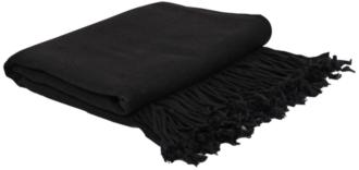 Dark Navy Blue Bamboo Velvet Throw Blanket (9N391) 9N391