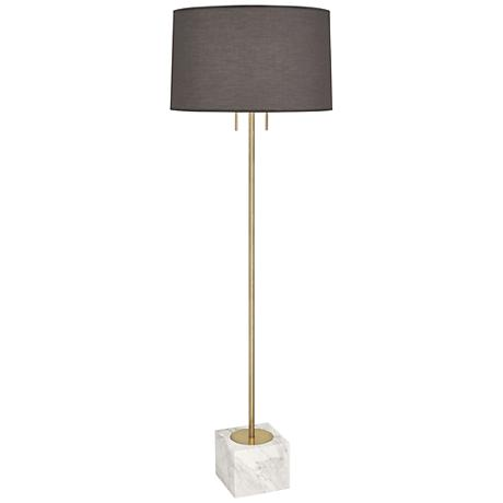 Jonathan adler barcelona lavender floor lamp 7v781 for Barcelona 3 light floor lamp