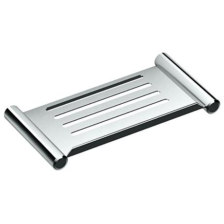 "Gatco Elegant Chrome 10"" Wide Shower Shelf"