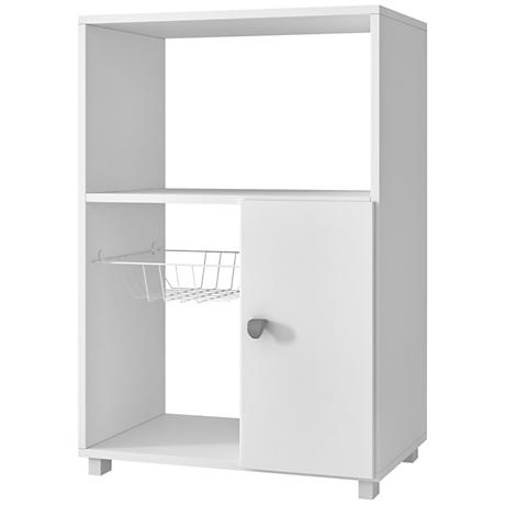 Clever Bedok White 1-Door Kitchen Organizer
