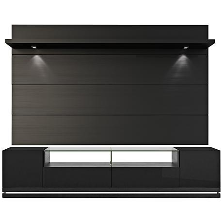 Vanderbilt TV Stand w/ Cabrini 2.2 TV Panel in Black