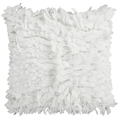 "Surya Claire Neutral 18"" Square Throw Pillow"