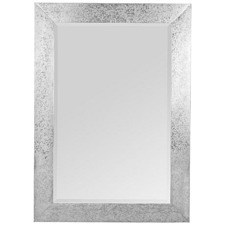 "Keegan Zinc 30"" x 42"" Rectangle Wall Mirror"
