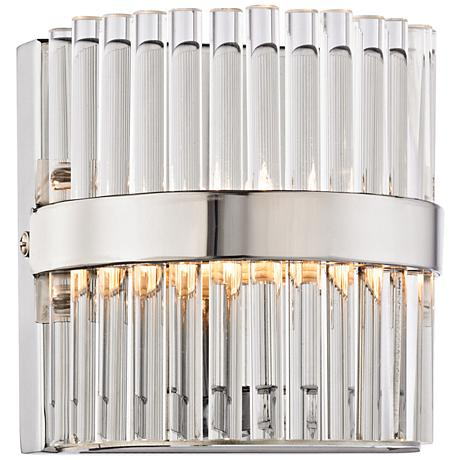 "Nescott 5"" High Polished Chrome 1-Light Wall Sconce"
