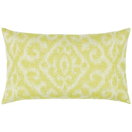 "Elaine Smith Bali Citrine 20""x12"" Throw Pillow"