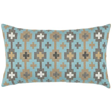 "Canyon Cross Sky 20""x12"" Lumbar Indoor-Outdoor Pillow"