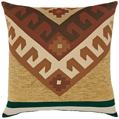 "Canyon Peak Forest 22"" Square Indoor-Outdoor Pillow"