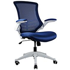 Lenox Royal Blue Mesh Adjustable Office Chair