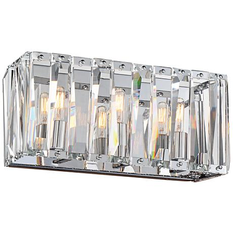 "Metropolitan Coronette 3-Light 17"" Wide Chrome Bath Light"