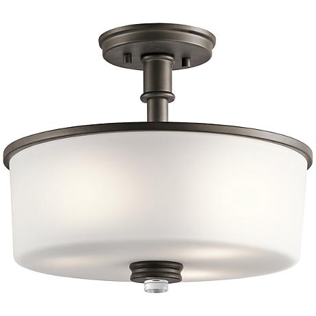 "Kichler Joelson 14 1/4"" Wide Olde Bronze Ceiling Light"