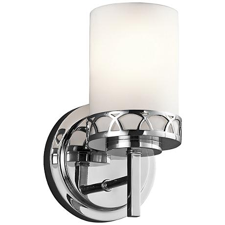 "Kichler Marlowe 9 1/4""H Transitional Chrome Wall Sconce"