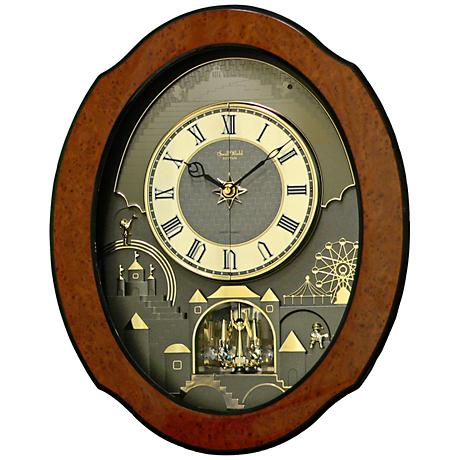 Large: 16 - 25 In., Wall Clocks Clocks Lamps Plus