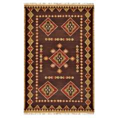 "Surya Jewel II Tone JTII-2028 Brown 2'6""x8' Area Rug"