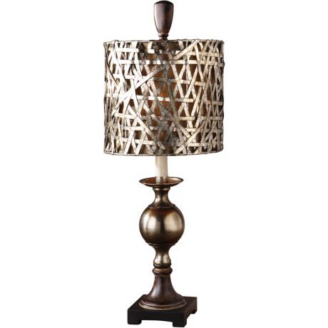 Alita Champagne Buffet Table Lamp