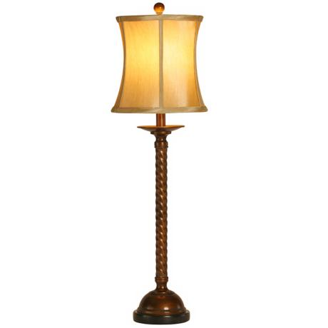 Raschella Barley Twist Buffet Table Lamp