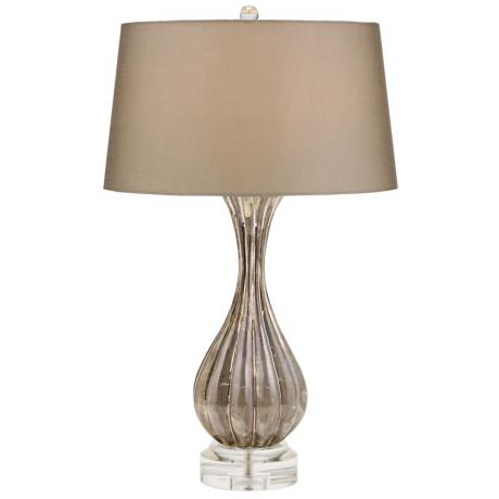 Cagney Shimmer Glass Table Lamp