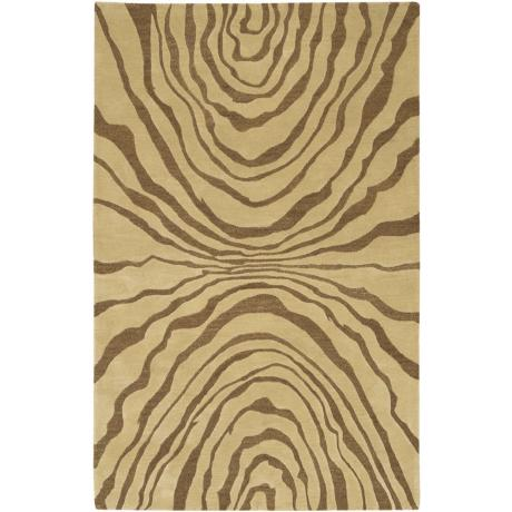 Rowland Collection Brown Area Rug