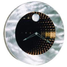 "Interstellar Infinity 22"" Wide Clock"