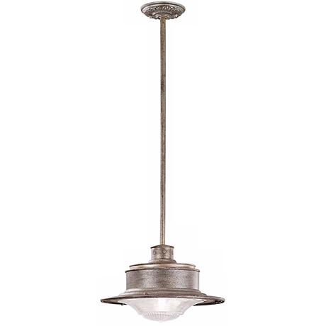 "South Street 13 1/2"" Wide Hanging Outdoor Light"