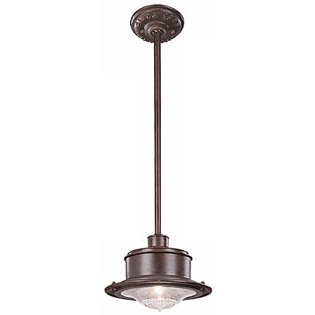 "South Street 9 3/4"" Wide Hanging Outdoor Light"