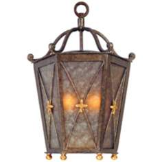 "Cheshire 18"" High Outdoor Pocket Wall Light"