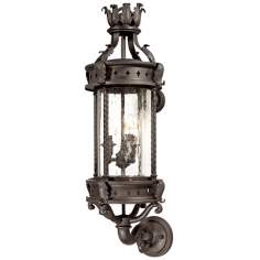 "Los Feliz 28 1/4"" High Outdoor Wall Light"