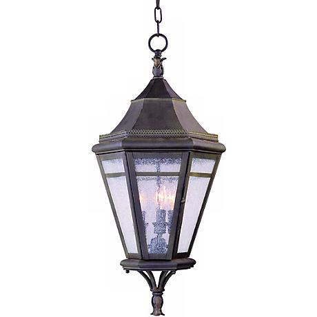 "Morgan Hill 27"" High Hanging Outdoor Light"