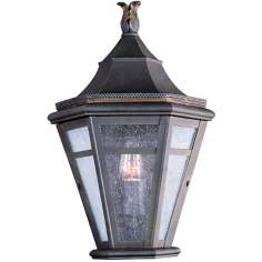 "Morgan Hill 15 1/2"" High Outdoor Pocket Wall Light"