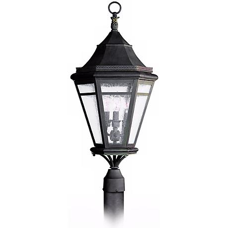 "Morgan Hill 28"" High Outdoor Post Mount Light"