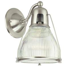 Hudson Valley Haverhill Satin Nickel Wall Sconce