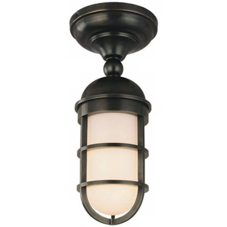Groton Semi-flushmount Wet Location Ceiling Light Fixture