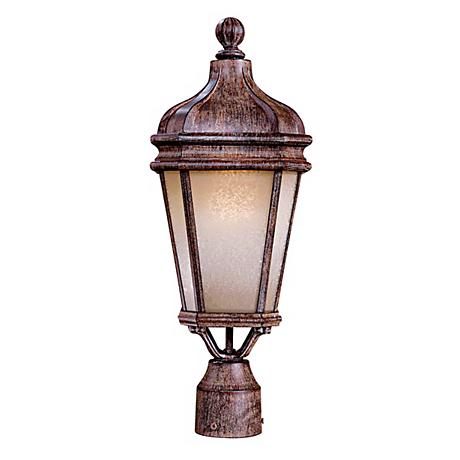 "Harrison 20"" Scavo Glass Outdoor Post Light"