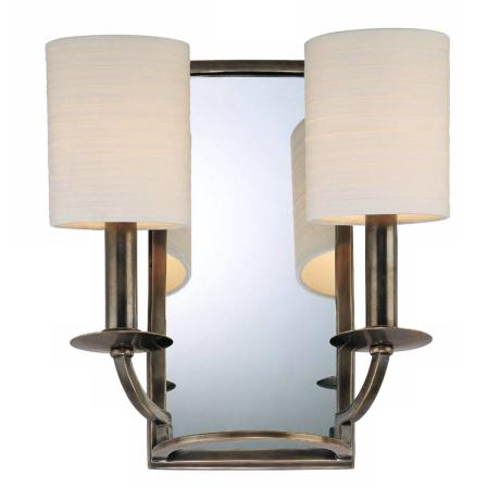 Winthrop Collection Two Light Mirror Wall Sconce