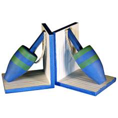 Set of 2 Buoy Bookends