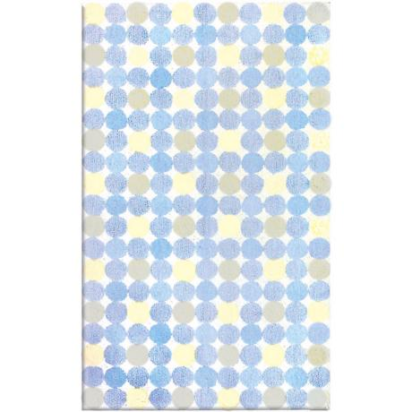 Magical Spots Blue Area Rug