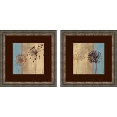 Set of 2 In The Breeze Wall Art Prints