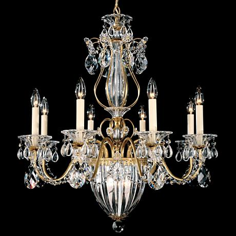 "Schonbek Bagatelle Collection 26"" Wide Crystal Chandelier"