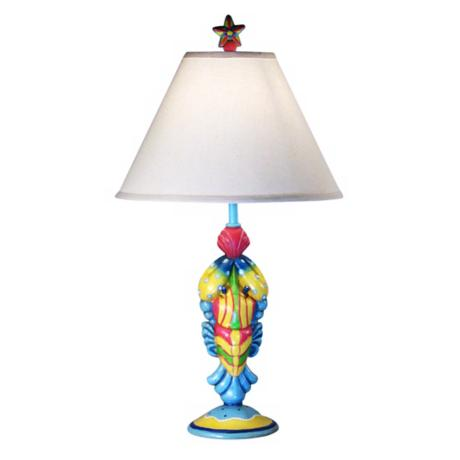 Rainbow Lobster Table Lamp