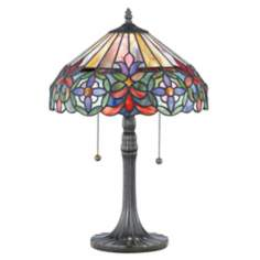 Quoizel Connie Tiffany-Style Table Lamp