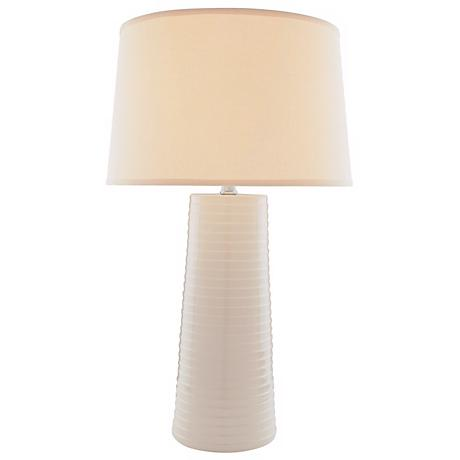 Lite Source Ivory Ceramic Table Lamp