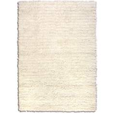 Lombardi Off-White Shag Area Rug