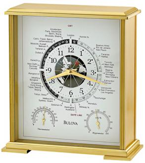 Bulova World Time Clock