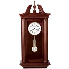 Bulova Walnut Manchester Wall Clock