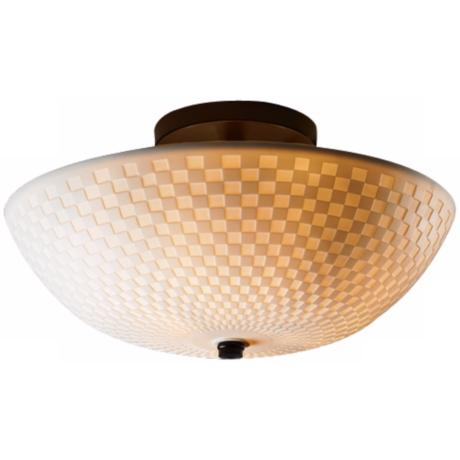 "Limoges Collection 13 3/4"" Wide Ceiling Light Fixture"