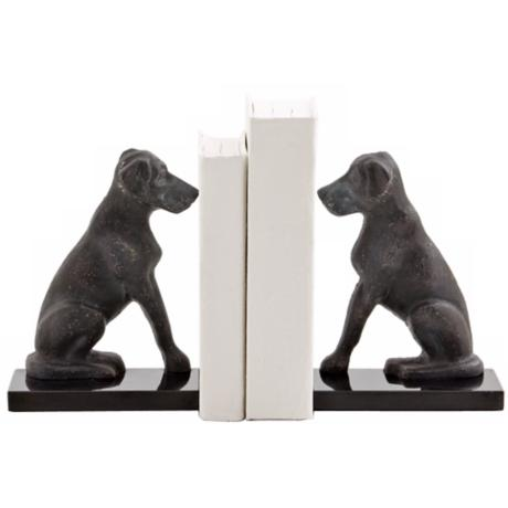 Harley the Dog Iron Bookends
