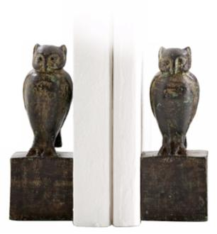 Owl Bookends Picture