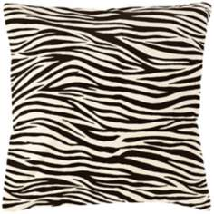 Zebra Stripes Pillow